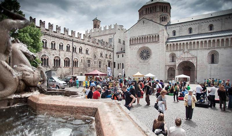 Trento, Block and Wall 2015. Fonte: archivio evento