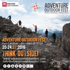 Adventure Outdoor Fest 2016, cover brochure