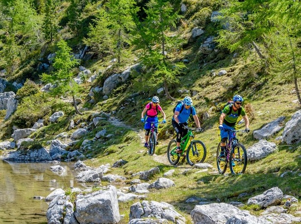 Mtb in Val Gardena. Fonte: bikehotels.it Alto Adige