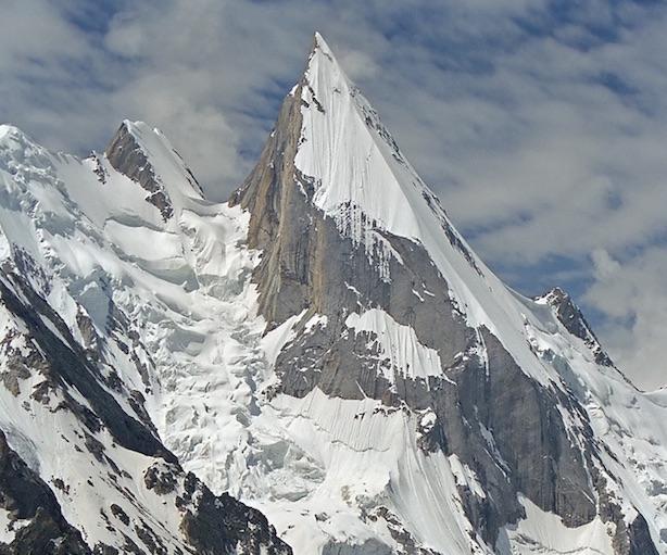 Laila Peak 6096 M Cosi Mosetti Cecon E Comelli Verso La Vetta