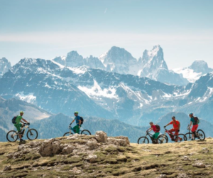 escursioni guidate con E-bike in Val Gardena