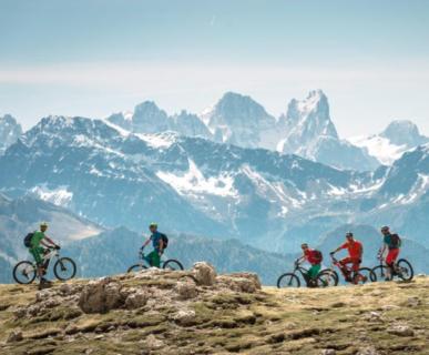 escursioni guidate con E-bike in Val Gardena