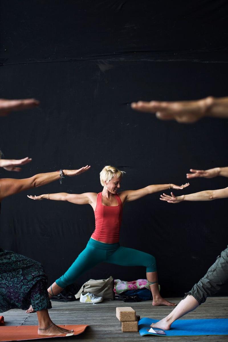 Arch. Adventure Oudtoor Fest, Yoga. Foto: Giovanni Danieli