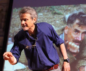 Marco Albino Ferrari al 64° Trento Film Festival   Le lunghe Notti. 1944: In fuga con Bill Tilman sulle Dolomiti. Musiche di Denis Biasion