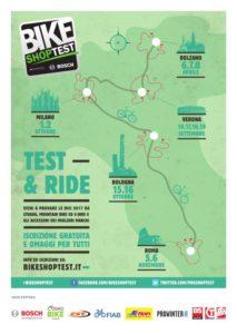 Bike Shop Test Tour 2016, locandina