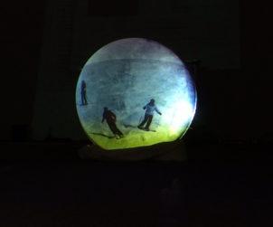 """Immagine mostra multimediale """"Luna, Montagna, Terra"""". Fonte: press evento"""