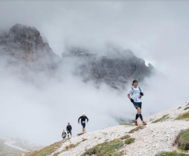 Misurina Sky Marathon - Cadini Sky Race 2016. Foto: Nicola Bombassei