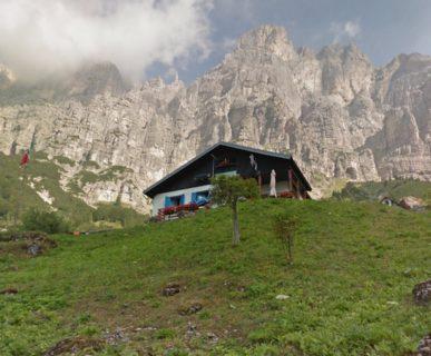 Rifugio 7° Alpini. Fonte: internet