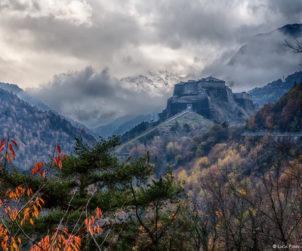 Valle di Susa: vista Forte Exilles. Foto: Luca Perino
