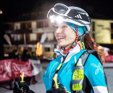 Alba De Silvestro, Folgrait SkiAlp Race 2016. Fonte: facebook De Silvestro