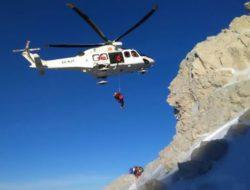 Recupero in elicottero. Fonte: ansa.it