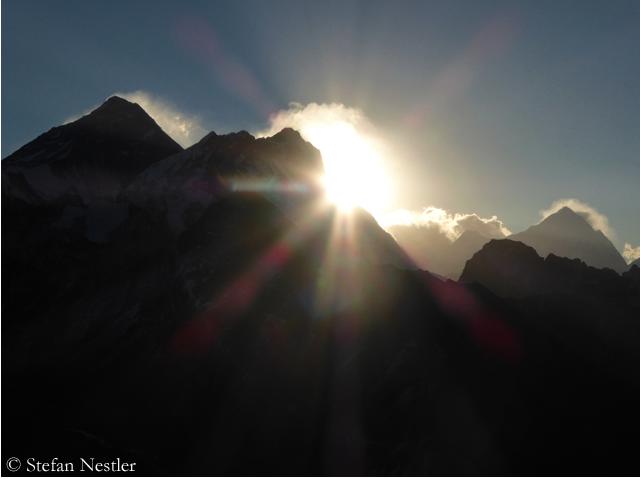 Everest, Lhotse, Makalu. Foto: Stefan Nestler