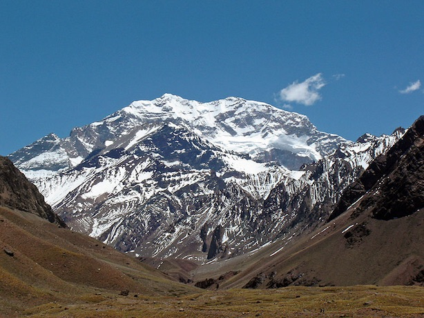 Aconcagua, Ande. Fonte: it.wikipedia.org