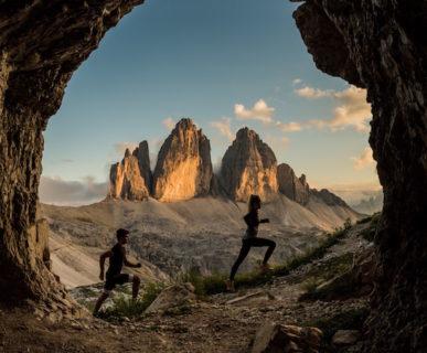 Suedtirol Drei Zinnen Alpine Run. Foto: Harald Wisthaler