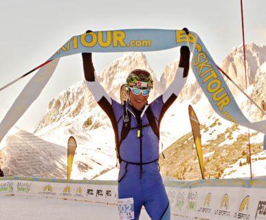 La Sportiva Epic Ski Tour 2017, i vincitori: Damiano Lenzi, Margit Zulian. Fonte: press evento