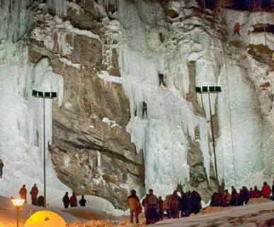 arch. Ice Climbing Fest