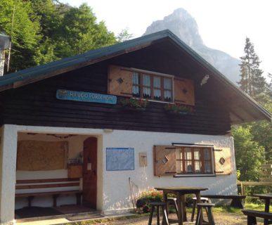 Rifugio Pordenone. Fonte: Dolomiti Unesco