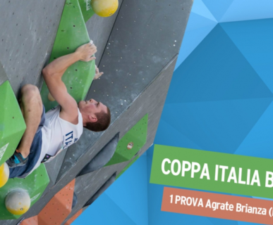 Coppa Italia Boulder. Fonte: www.federclimb.it