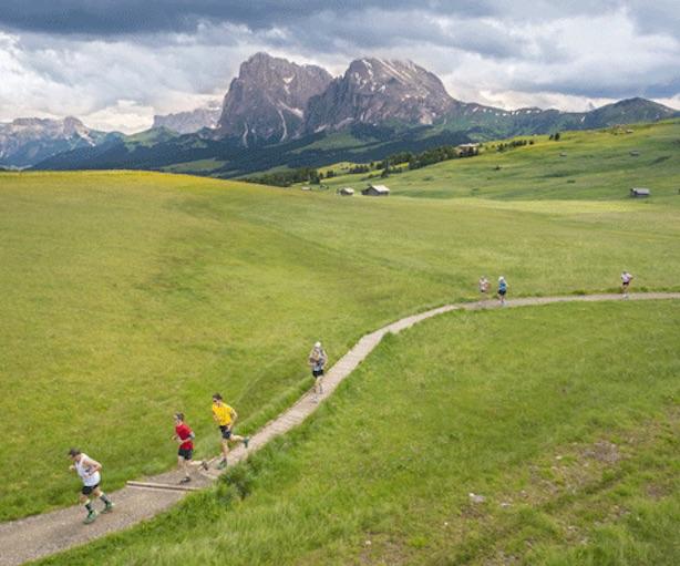 Arch. Mezza Maratona Alpe di Siusi.