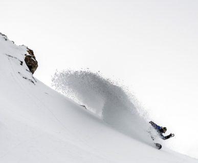Click on the Mountain 2016. Foto: Roby Bragotto. In azione Simon Gruber.