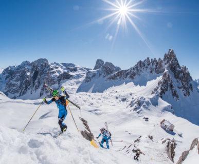 arch. Drei Zinnen Ski Raid.