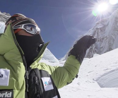 Invernale all'Everest 2017: Alex Txikon. Fonte: facebook