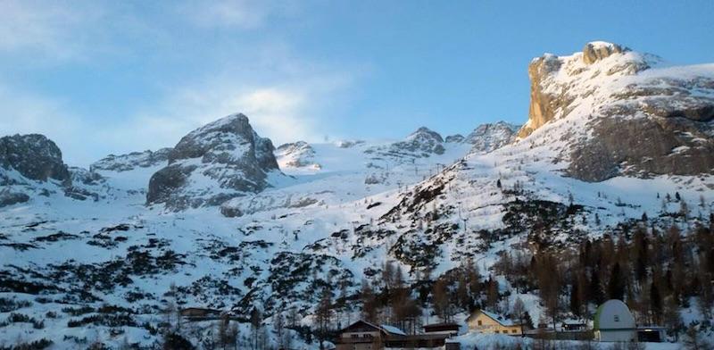 Marmolada riapre la funivia nostalgica fedaia marmolada for Cabine vicino a whiteface mountain