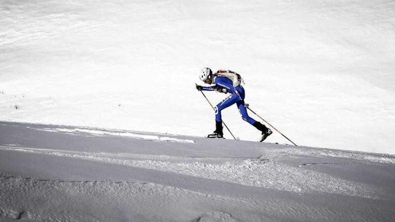 Erzincan, Turchia 2017: Matteo Eydallin nell'Individual Race