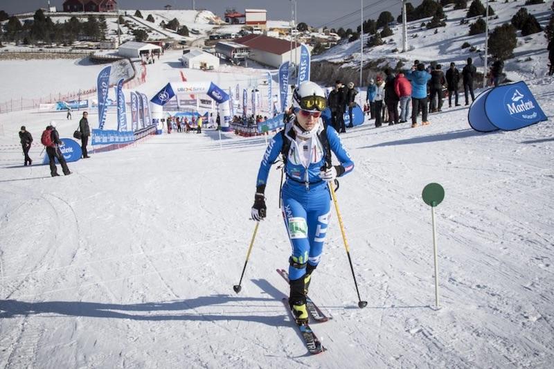 Erzincan, Turchia 2017: Katia Tomatis nella Sprint. Arch. Karpos