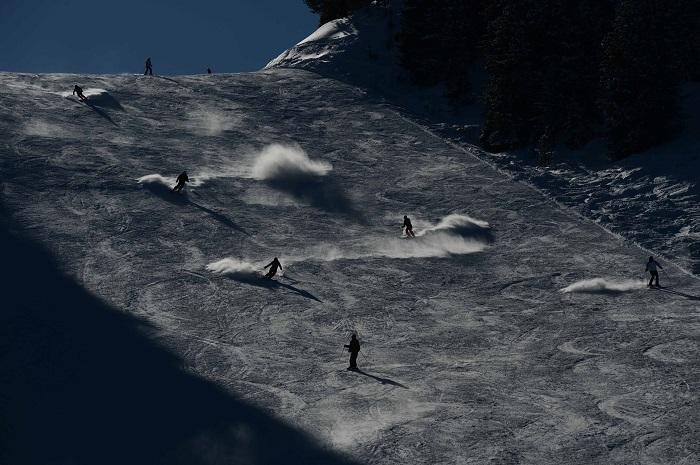Notturna sci alpe Cermis OLIMPIA ph Pierluigi Orler