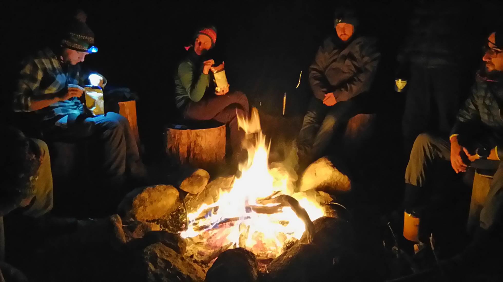 Riflessioni attorno al fuoco