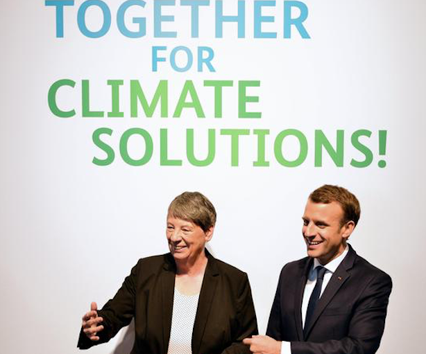 Clima, Macron al vertice di Parigi: