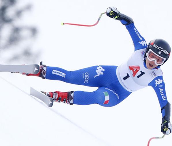Sofia Goggia seconda per soli 2 centesimi nella discesa di Garmisch-Partenkirchen
