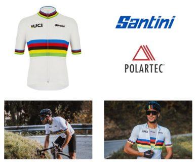 santini polartec maglia ciclismo