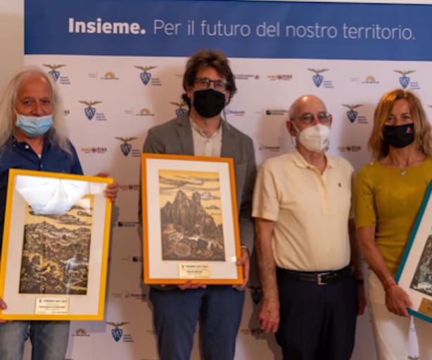 Premio SAT 2021 a Rosa Morotti, Alessio Bertolli e Mario ...